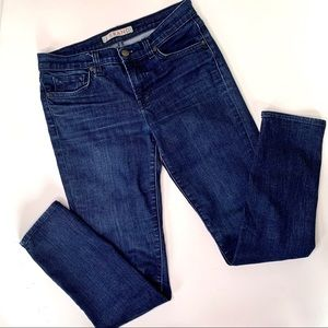 J Brand Skinny Leg Blue Jeans in Eclipse size 28